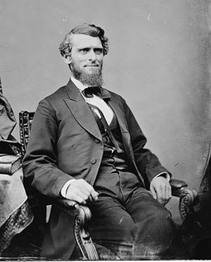 Wheeling Convention - Arthur I. Boreman 1861 Wheeling Presiding officer