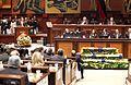 Asamblea Nacional instaló la sesión solemne, en la que el presidente de la República, Rafael Correa Delgado, presenta su informe a la nación (6030076989).jpg