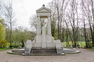 Paul Pfann - Image: Aschaffenburg, Großmutterwiese, Ludwigsbrunnen 002