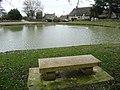 Ashmore, pondside seat - geograph.org.uk - 1142581.jpg