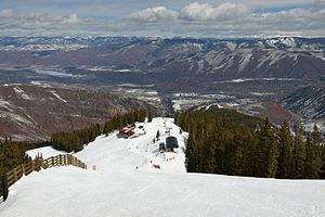 Aspen Highlands - View of Cloud Nine