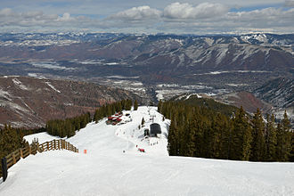 Aspen Highlands - View of Cloud Nine