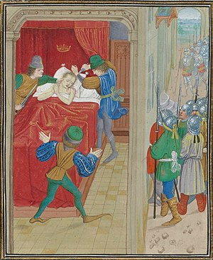 Peter I of Cyprus - Jean Froissart: Assassination of Peter I