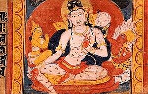 Avalokiteśvara - Image: Astasahasrika Prajnaparamita Avalokitesvara Bodhisattva Nalanda