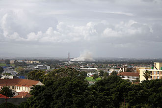 Athlone, Cape Town - Athlone, just after the demolition of the Cooling Towers