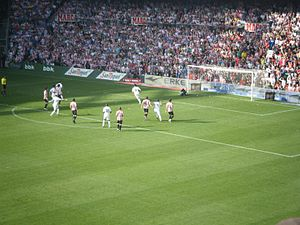 El Viejo Clásico - Kaká scoring a penalty at the old San Mamés in 2011