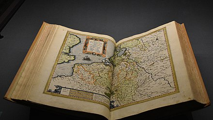 The 1595 atlas in the collection of the Royal Library of Belgium Atlas van Gerard Mercator (1595) - KBR 27-8-2016 11-33-21.jpg