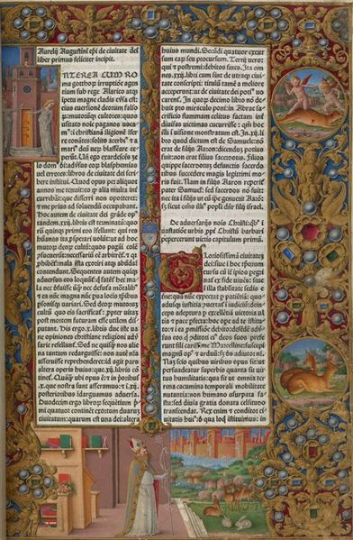 File:Attributed to Girolamo da Cremona, Augustine's Vision of the City of God.jpg