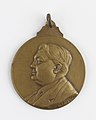 Au Docteur Georges Deprez, medal by Pierre Theunis, Belgium, (1936), Coins and Medals Department of the Royal Library of Belgium, 2N141 - 2 (recto).jpg