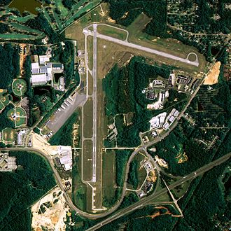 Auburn University Regional Airport - NAIP aerial image, 2006