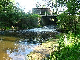 Mill jam near Leistenow
