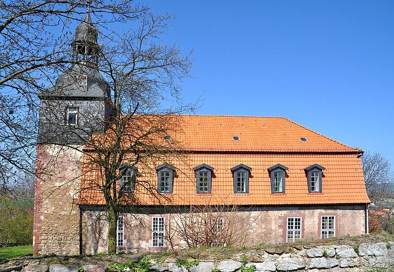 File:Auleben Kirche - Hangseite.jpg