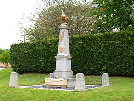 The Aure War memorial