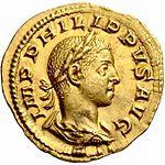 Aureus Philippus II (anverso) .jpg