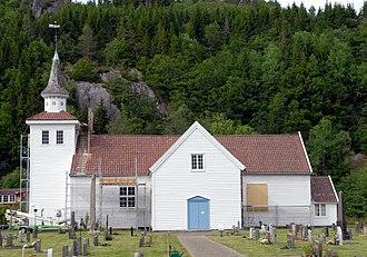 Lyngdal - Austad Church