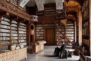 Göttweig Abbey - Göttweig Abbey library