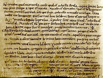 Liturgical drama -  Codex of the Auto de los Reyes Magos