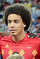 Axel Witsel with Belgium before game v Brazil, 6 July 2018.jpg