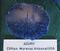 Azurit - Clifton Morenei, Arizona, USA.JPG