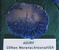 Azurit - Clifton Morenei, Arizona, USA.JPG