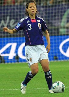 Azusa Iwashimizu Japanese association football player