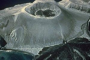 Volcán Bárcena - Barcena cinder cone