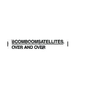 Over and Over (Boom Boom Satellites album) - Image: BBS OVERANDOVER1