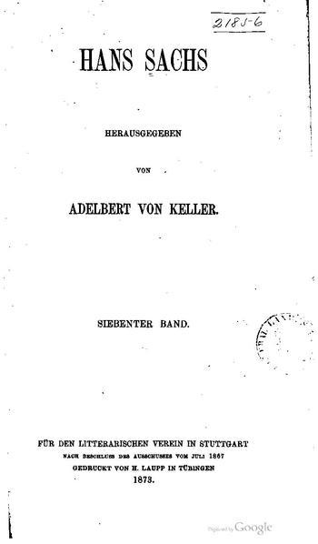 File:BLV 115 Hans Sachs Band 7.pdf