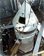 BP-27 atop Saturn IB