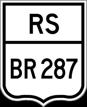 BR-377 - Image: BR 287