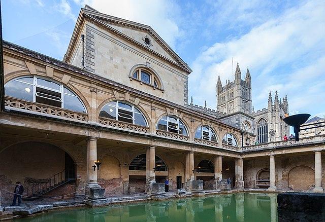 Baños Romanos Bath Inglaterra:File:Baños Romanos, Bath, Inglaterra, 2014-08-12, DD 25JPG