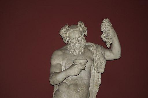 Bacchus (Dionysus) Vatican Museums-DSC 0206