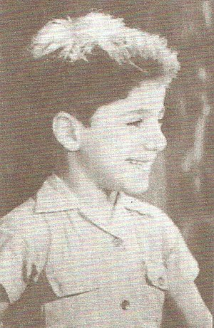 Bachir Gemayel - Bachir Gemayel as a child