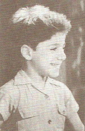 Bachir Gemayel - Bachir Gemayel as a child