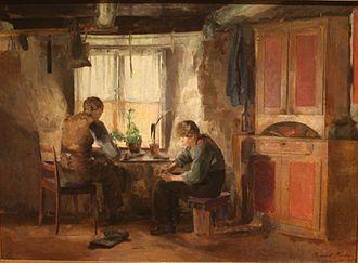 1887 in Sweden - Backer Bygdeskomakere
