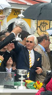 Bob Baffert American horse owner and trainer