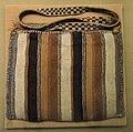 Bag, warp-faced plain weave, camelid fiber, Inka style, Chancay Valley - DSC06125.JPG