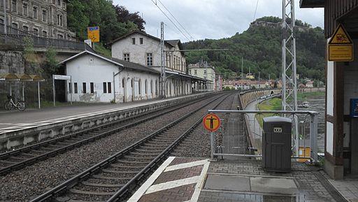 Bahnhof Königstein(Sächs Schw)