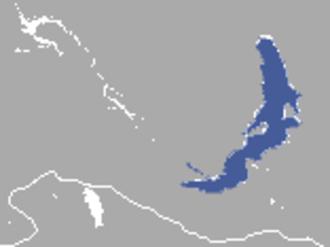 Baikal seal - Image: Baikal Seal area