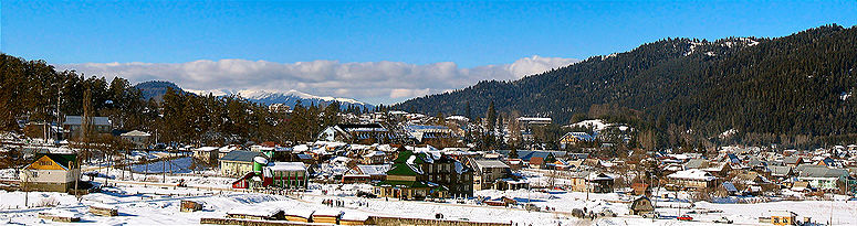 Bakuriani in Winter