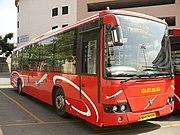 Bangalore Metropolitan Transport Corporation Volvo B7RLE bus, India