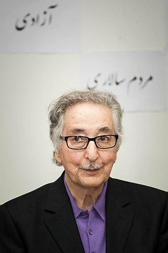Abolhassan Banisadr - Banisadr in 2013