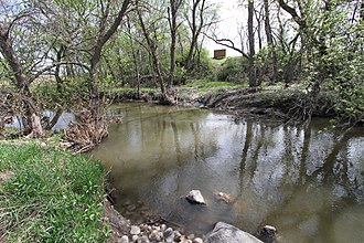 Plum Creek (Cottonwood River) - Ingalls Family Dugout Site on the banks of Plum Creek