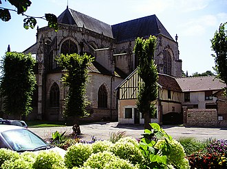 Bar-sur-Seine - St Stephen's Church