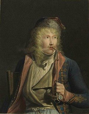 Jacques-Luc Barbier-Walbonne - Jacques-Luc Barbier-Walbonne engraved by François Aubertin, painted by Jean-Baptiste Isabey,  (Musée de la Révolution française).