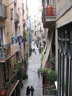neighborhood of Barcelona, Spain