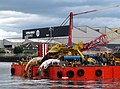 Barge 'UR 101' at Belfast - geograph.org.uk - 1407452.jpg