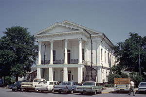 Barnwell County Courthouse in 1968