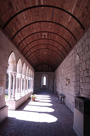 Barrel vault - The Cloisters, New York City