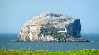 Bass Rock - The Bass Rock viewed from North Berwick